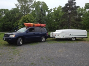 Just before heading for the Berkshires in June, 2013