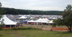 Campsites at Grey Fox