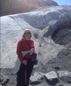 E at glacier