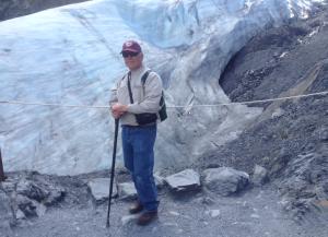 J at glacier
