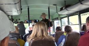 Ranger on Bus