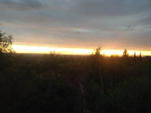 Sunset at B&B